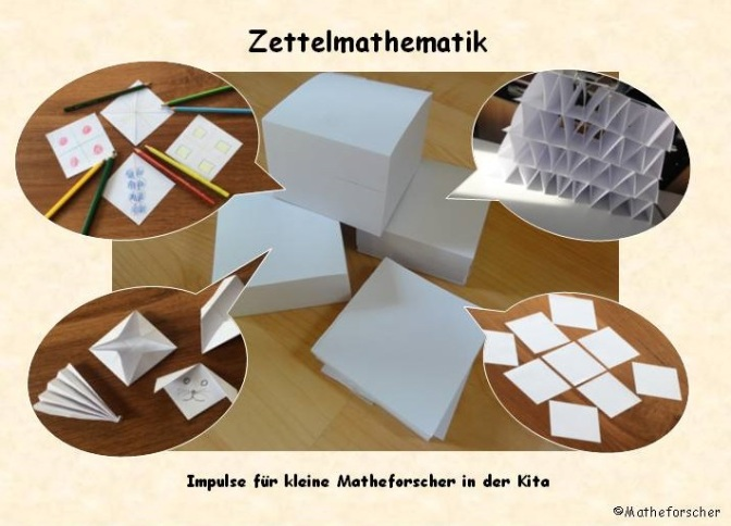 Zettelmathematik auch für die Kita