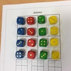 Sudoku nach Zahlen 1