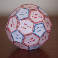 Fußballkörper, bzw. Ikosaederstumpf
