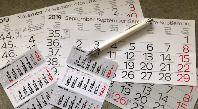 Kalendermathematik im Homeschooling